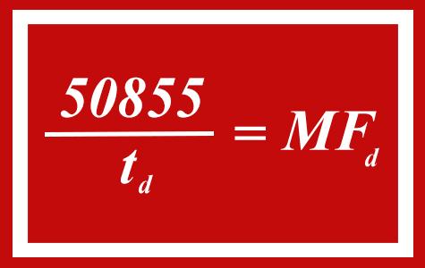 Millennium Falcon speed equation