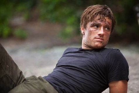 Peeta Mellark in The Hunger Games