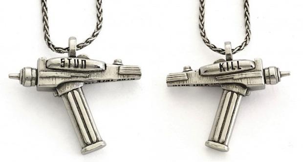 RockLove Star Trek jewelry phaser necklace