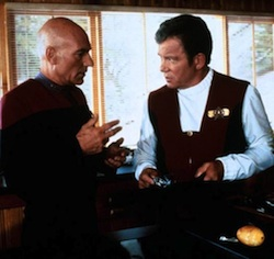 Picard and Kirk