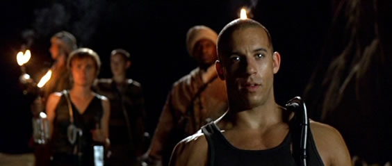 Pitch Black, Vin Diesel, Riddick