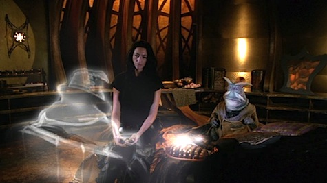 Farscape: The Peacekeeper Wars, Rygel, Aeryn