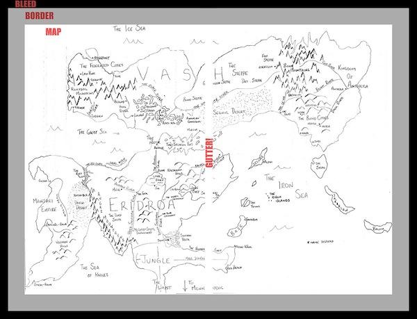 How To Make A Fantasy World Map Tor Com