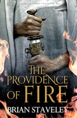 The Providence of Fire UK cover Brian Staveley