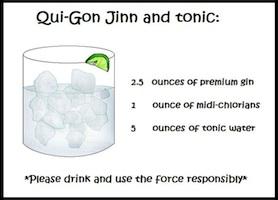 Qui-Gon Jinn and tonic