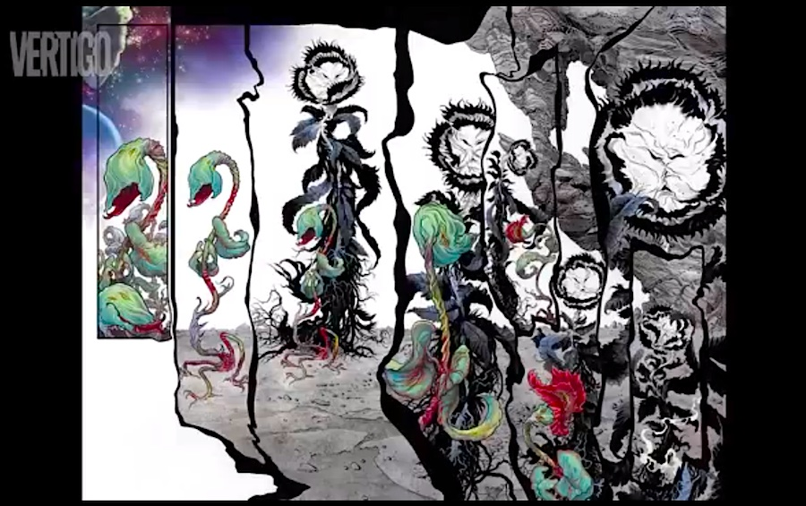 Sandman: Overture Neil Gaiman J.H. Williams art San Diego Comic Con