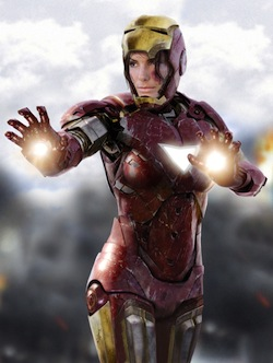 who should replace Tony Stark Sandra Bullock Iron Woman Natasha Stark Robert Downey Jr.