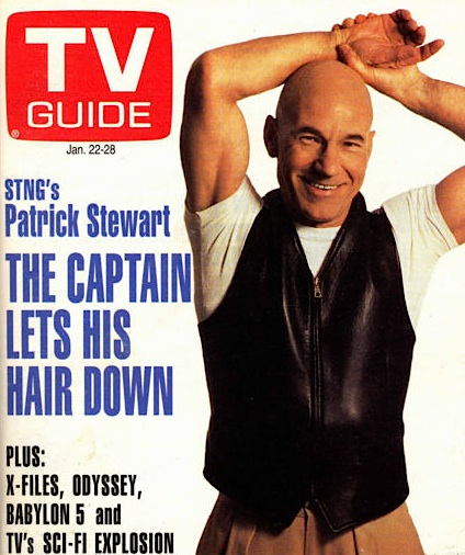 Patrick Stewart sexiest man TV Guide