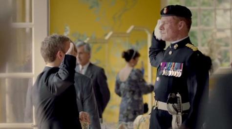 Sherlock, The Sign of Three, John, Major Reed