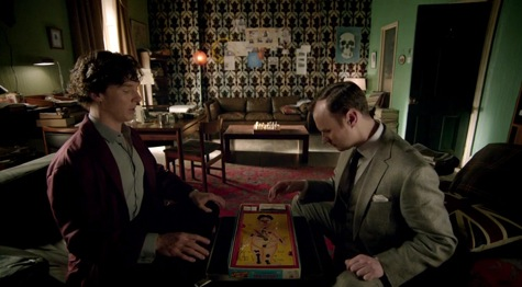 Sherlock, The Empty Hearse, Mycroft