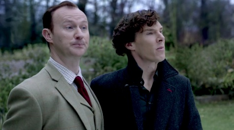 Sherlock, His Last Vow, Mycroft