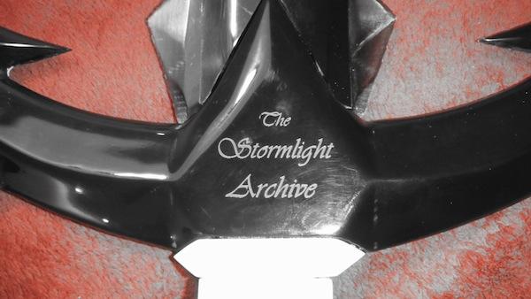 Shardblade Val Alston Brandon Sanderson Stormlight Archive
