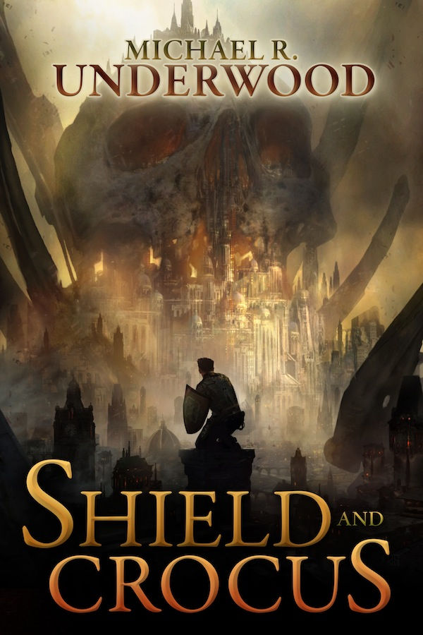 Michael R Underwood Shield and Crocus cover reveal
