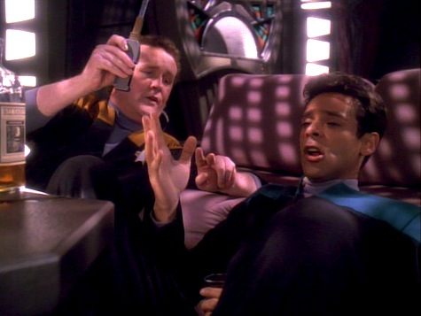 Star Trek Deep Space Nine, Explorers, O'Brien, Bashir