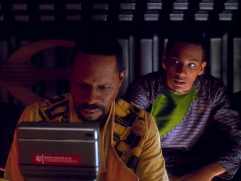 Star Trek Deep Space Nine, Explorers, Sisko, Jake