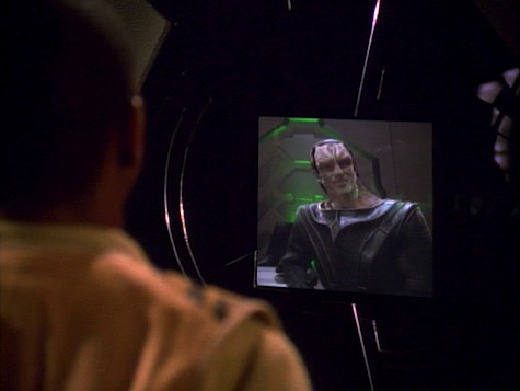 Star Trek Deep Space Nine, Explorers, Sisko, Dukat