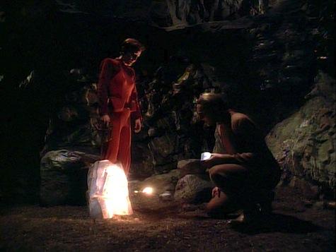Star Trek Deep Space 9, Heart of Stone, Kira, Odo