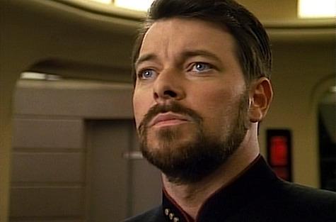Star Trek: The Next Generation, The Best of Both Worlds, Riker