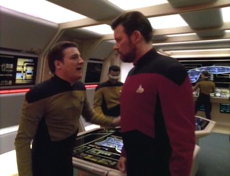 Star Trek: The Next Generation Season 5, Episode 12 Violations