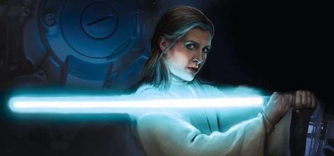Star Wars Episode VII Leia lightsaber