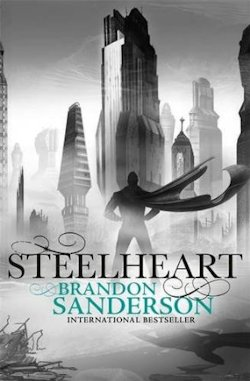 Steelheart Brandon Sanderson UK cover