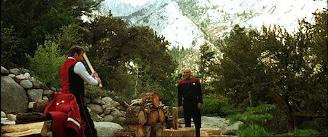Star Trek Generations, Picard, Kirk