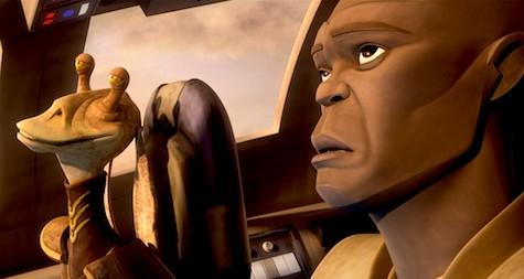 Star Wars: The Clone Wars, Jar Jar, Mace Windu, The Disappeared