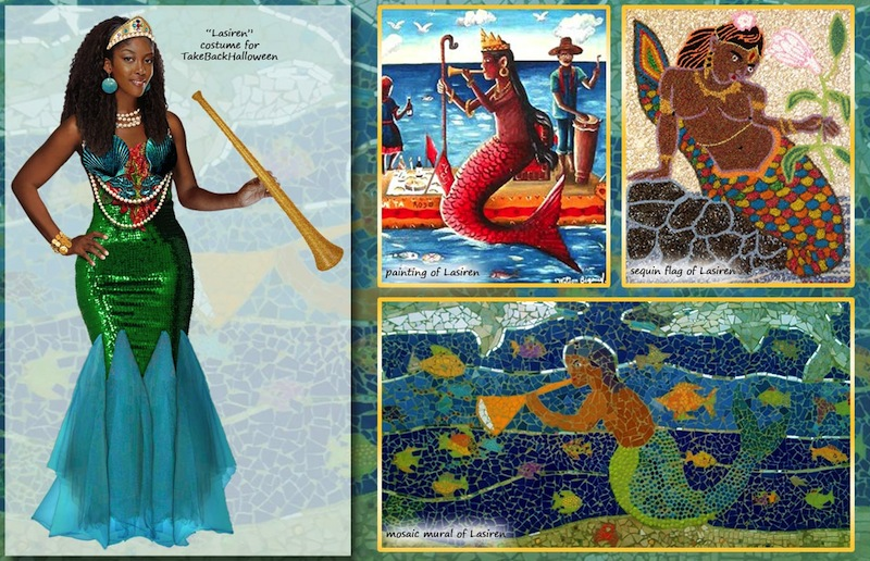 Take Back Halloween, Lasiren, goddess of the sea