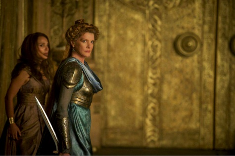 Thor the darkworld, jane and frigga, natalie portman, rene russo