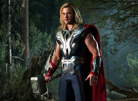 Thor Chris Hemsworth The Avengers