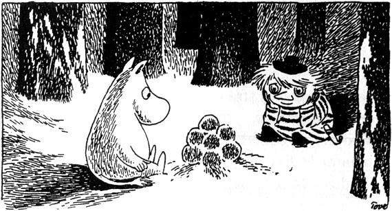Tove Jansson Moomin Too-Ticky