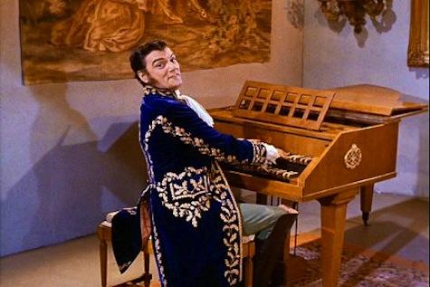 Trelane at the Harpsichord