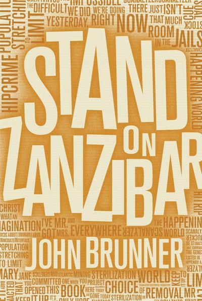 Stand on Zanzibar cover process