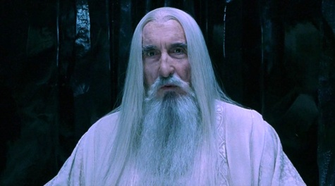 Villain Fashion, Lord of the Rings, Saruman, Christopher Lee