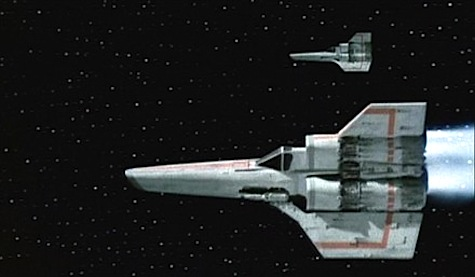 Battlestar Galactica 1978 Star Wars Vipers