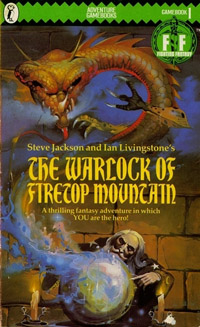 The Warlock of Firetop Mountain book