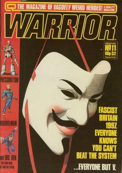 V for Vendetta Alan Moore Warrior
