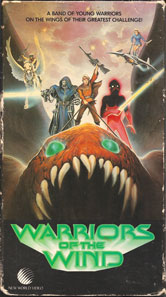 VHS Covers Warriors of the Wind Robert Lamb