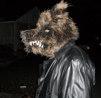 Jason as a werewolf