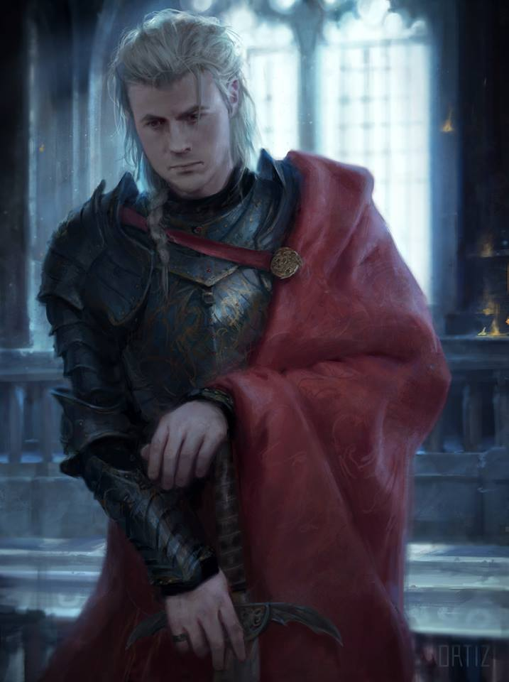 The World of Ice & Fire Rhaegar Targaryen Karla Ortiz