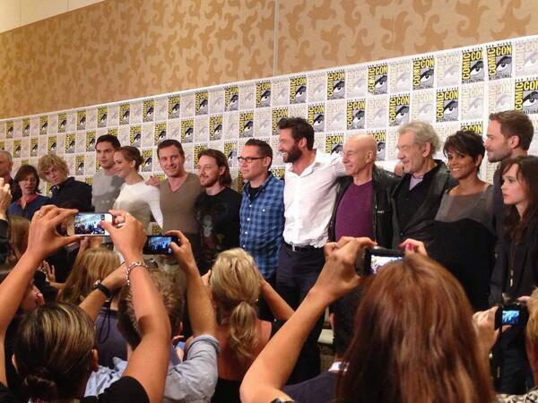 X-Men days of future past sdcc 2013 cast