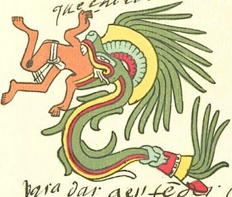 An early drawing of a Yacu-mama