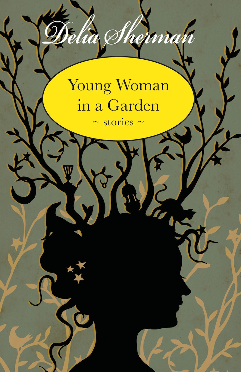 Young Woman in a Garden cover