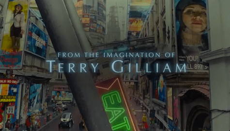 The Zero Theorem trailer Terry Gilliam Christoph Waltz Tilda Swinton very cool creepy