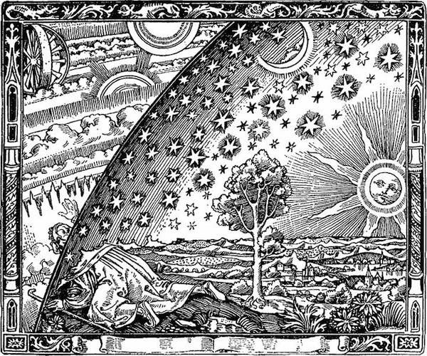 The Flammarion Engraving, 1888 (artist unknown)