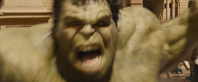 Avengers: Age of Ultron second trailer Hulk