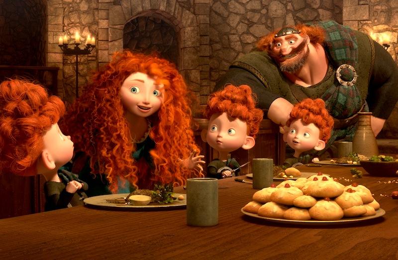 Brave, Merida family