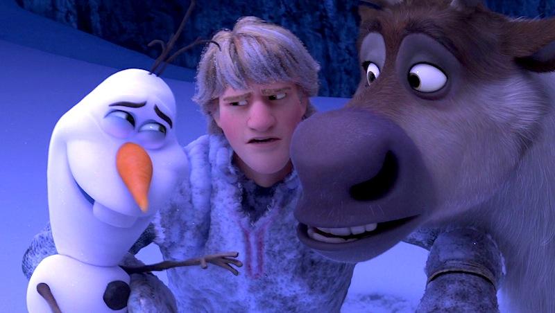 Frozen, Olaf, Sven, Kristoff