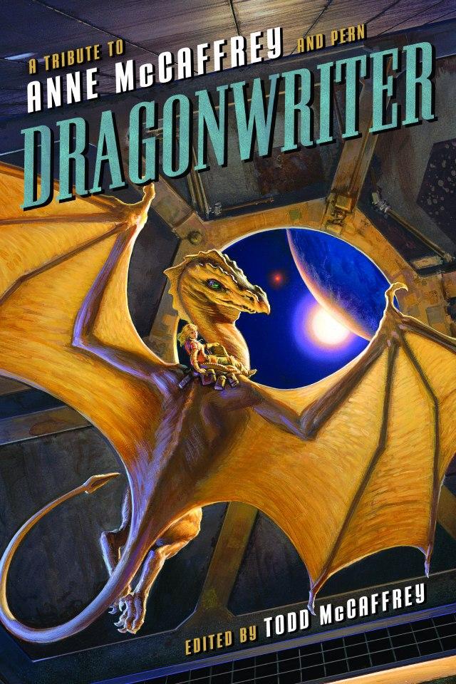 Michael Whelan Dragonwriter Anne McCaffrey full cover