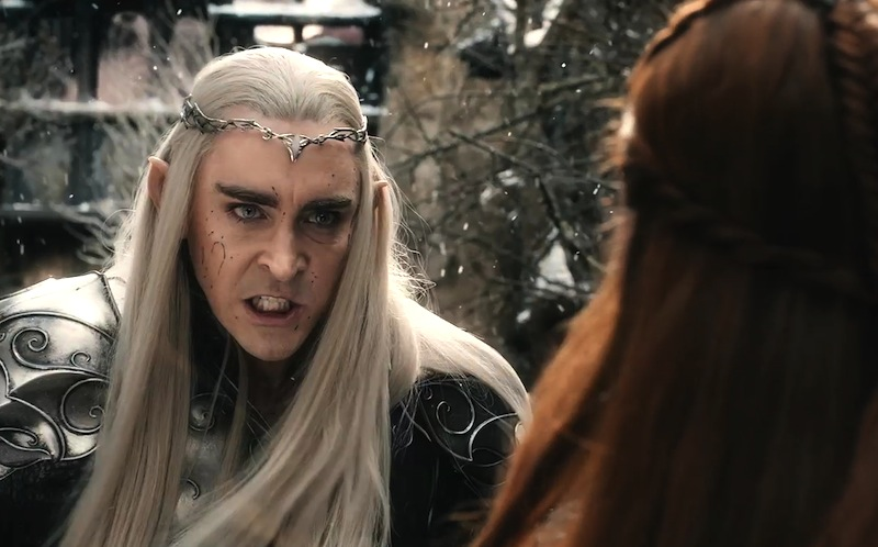 The Hobbit: The Battle of the Five Armies, Thranduil